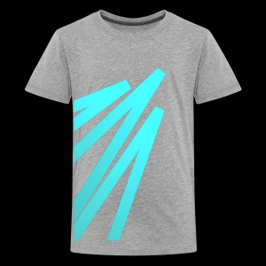 Rising Big Digital Green Light - Kids' Premium T-Shirt