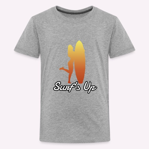 surfs up - Kids' Premium T-Shirt