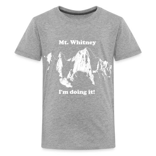 Mt. Whitney T-Shirt - Kids' Premium T-Shirt