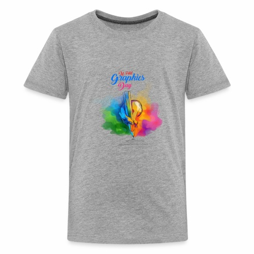 world graphics day - Kids' Premium T-Shirt