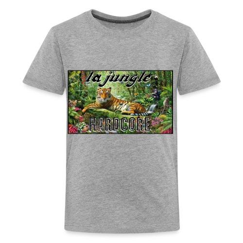 lajunglehardcore - T-shirt premium pour ados