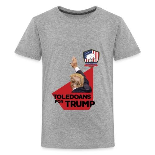 College Republicans UT- Toledoans for Trump - Kids' Premium T-Shirt
