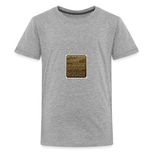 D72D8388 934F 4221 8864 66E8C7039F2A - Kids' Premium T-Shirt
