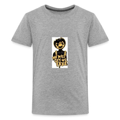Bendy Merch (SUB FOR MY YT CHANNEL!) - Kids' Premium T-Shirt