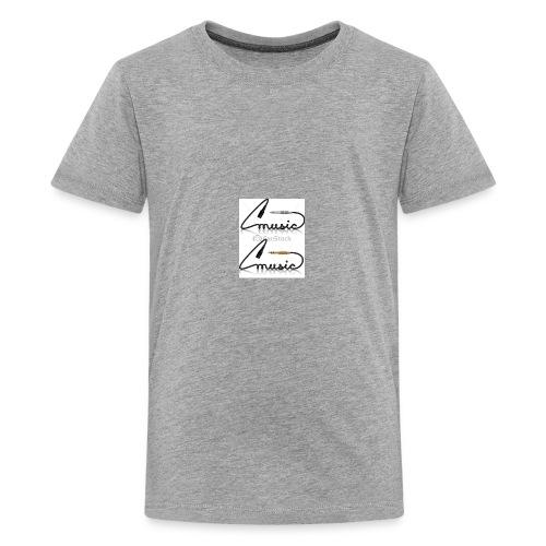 conectores vector musica - Kids' Premium T-Shirt