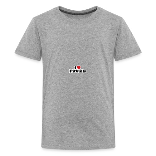this i love pitbulls iphone cases - Kids' Premium T-Shirt