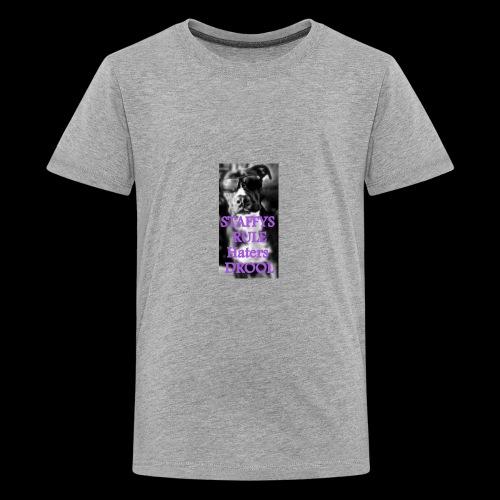 HATERS DROOL! - Kids' Premium T-Shirt
