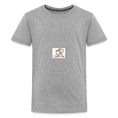 Love Long Hoodie - Kids' Premium T-Shirt