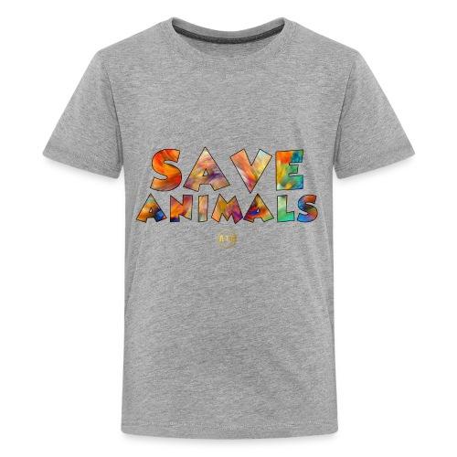 Save Animals by ATG - Kids' Premium T-Shirt