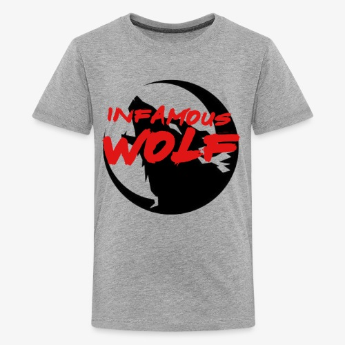 Infamous Wolf shirt(kid) - Kids' Premium T-Shirt