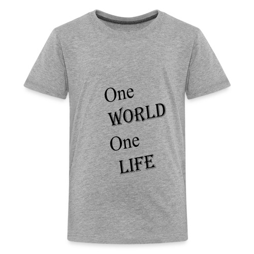 one world - Kids' Premium T-Shirt