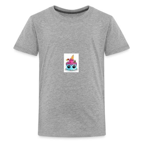 cute cake - Kids' Premium T-Shirt
