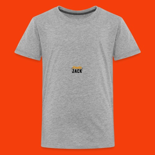 monster jack logo - Kids' Premium T-Shirt