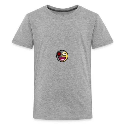 Future Awesome Face - Kids' Premium T-Shirt