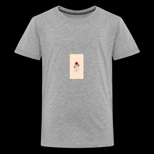 roses and hands - Kids' Premium T-Shirt