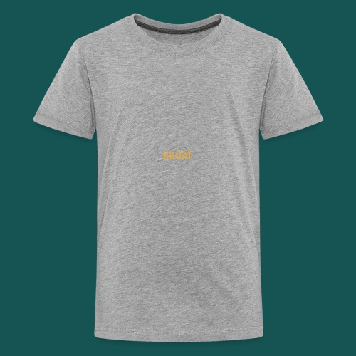 BK0AI - Orange Logo - Kids' Premium T-Shirt