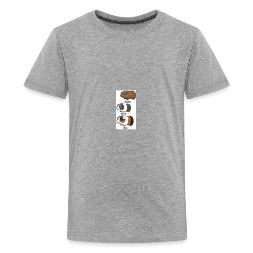 all animated guinea pigs - Kids' Premium T-Shirt