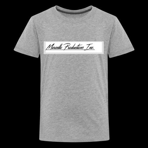 Marcello Production Inc. Merch - Kids' Premium T-Shirt