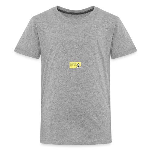 no run family - Kids' Premium T-Shirt