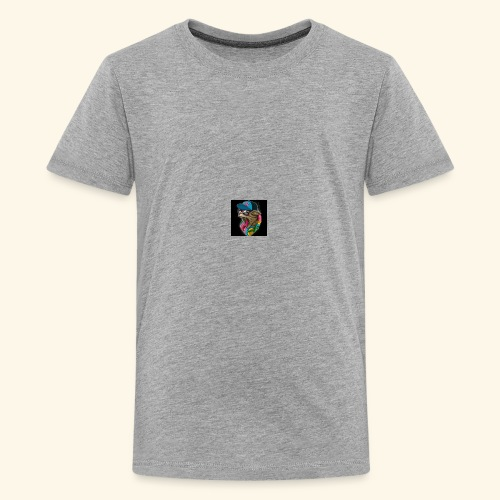 Tommy The Cats Kid and Babies wearing - Kids' Premium T-Shirt