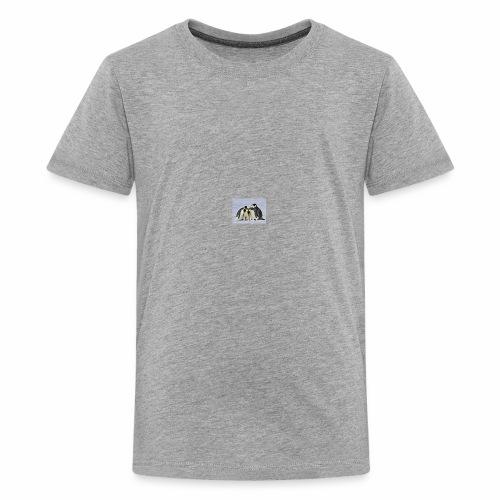 penguin fam - Kids' Premium T-Shirt
