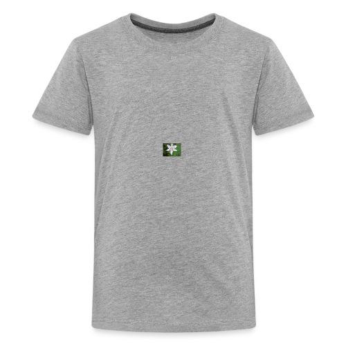 whiteflower - Kids' Premium T-Shirt