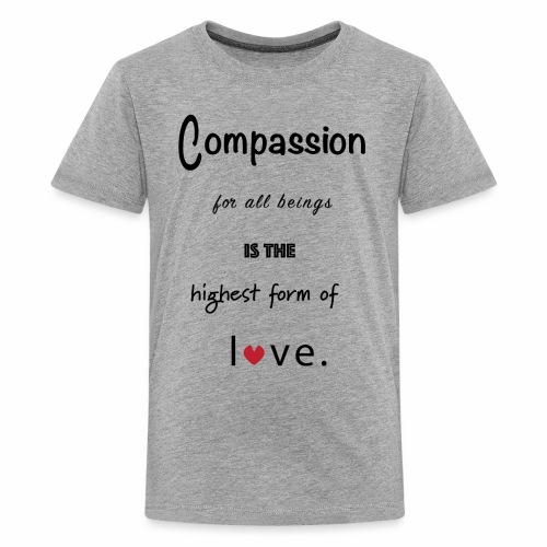 Compassion for All Beings - Kids' Premium T-Shirt