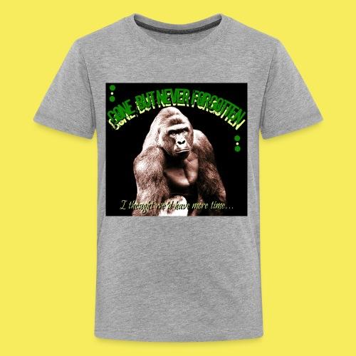 Remember Harambe - Kids' Premium T-Shirt