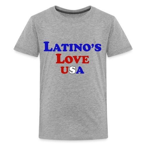 Latino's Love T Shirt - Kids' Premium T-Shirt