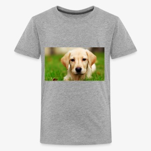 cute puppy - Kids' Premium T-Shirt
