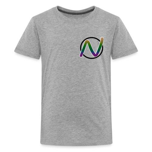 N Shirt #NaDeNaTIon (3 Colors) - Kids' Premium T-Shirt