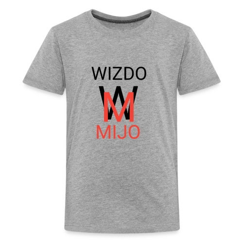 Wizdomijo mearch for YouTube - Kids' Premium T-Shirt