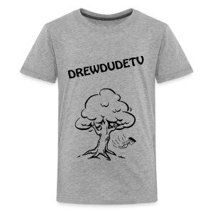 BOY FALLS FROM TREE - Kids' Premium T-Shirt