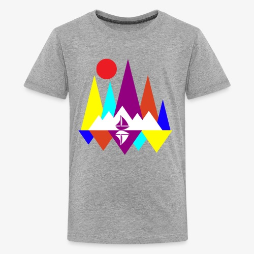 Peace Sailing - Kids' Premium T-Shirt