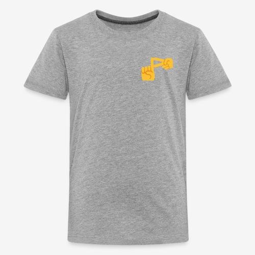 Official Pixomar Logo Design Shirt - Kids' Premium T-Shirt