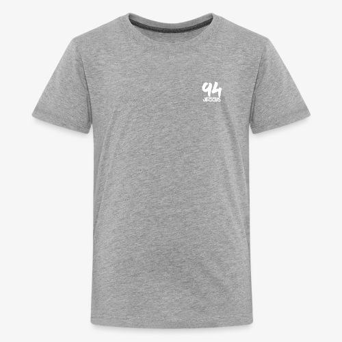 94 jezzus white logo - Kids' Premium T-Shirt