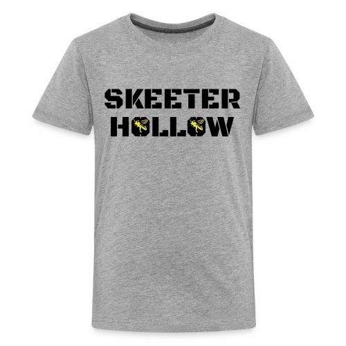Skeeter Hollow honeybees - Kids' Premium T-Shirt