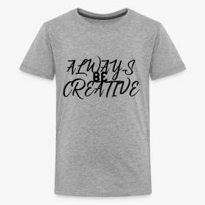 Creativity Shirt - Kids' Premium T-Shirt