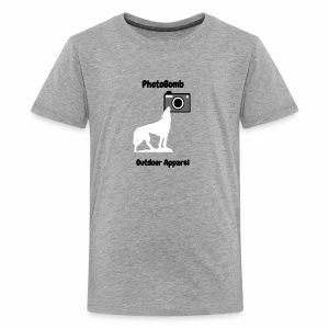 PhotoBomb Logo Graphic - Kids' Premium T-Shirt