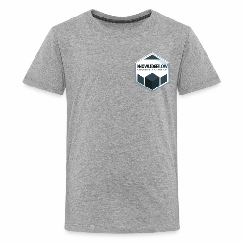 KnowledgeFlow Cybersafety Champion - Kids' Premium T-Shirt