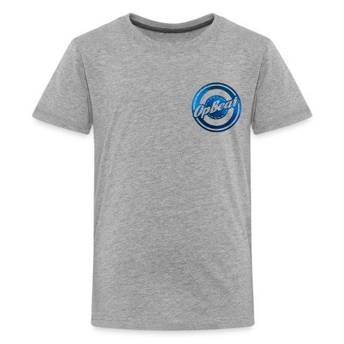 Blue Cubes - Kids' Premium T-Shirt