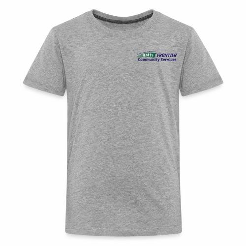 Frontier Logo - Full Color - Kids' Premium T-Shirt