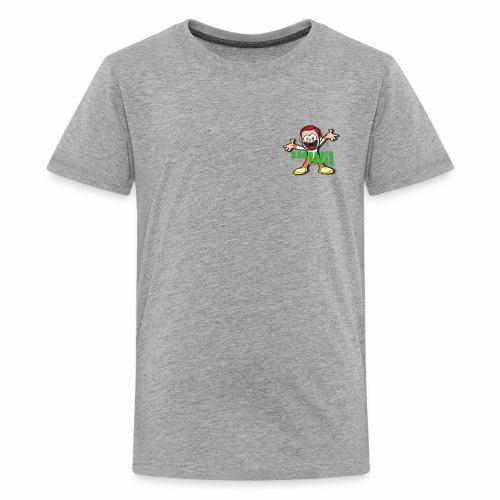 cannabis jones crazy logo - Kids' Premium T-Shirt