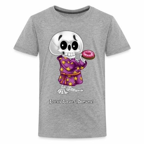Lichs Love Donuts - Kids' Premium T-Shirt