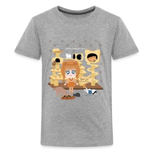 Kittie Girl - Kids' Premium T-Shirt