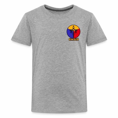 Delta Fox Patch Crest - Kids' Premium T-Shirt