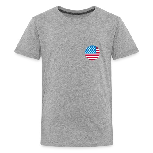 Independence day USA flag Fourth Of July T-Shirts - Kids' Premium T-Shirt