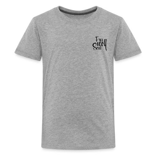 Logotype - Free Wolf Soul - Kids' Premium T-Shirt