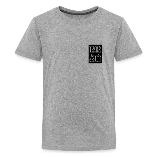 Initial BRSH Marquee Logo - Kids' Premium T-Shirt