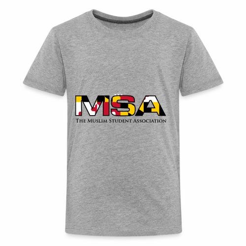 Maryland Flag MSA Logo - Kids' Premium T-Shirt